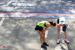 Des Linden, Brooks, Kellyn Taylor, HOKA<br /> TCS New York City Marathon 2019