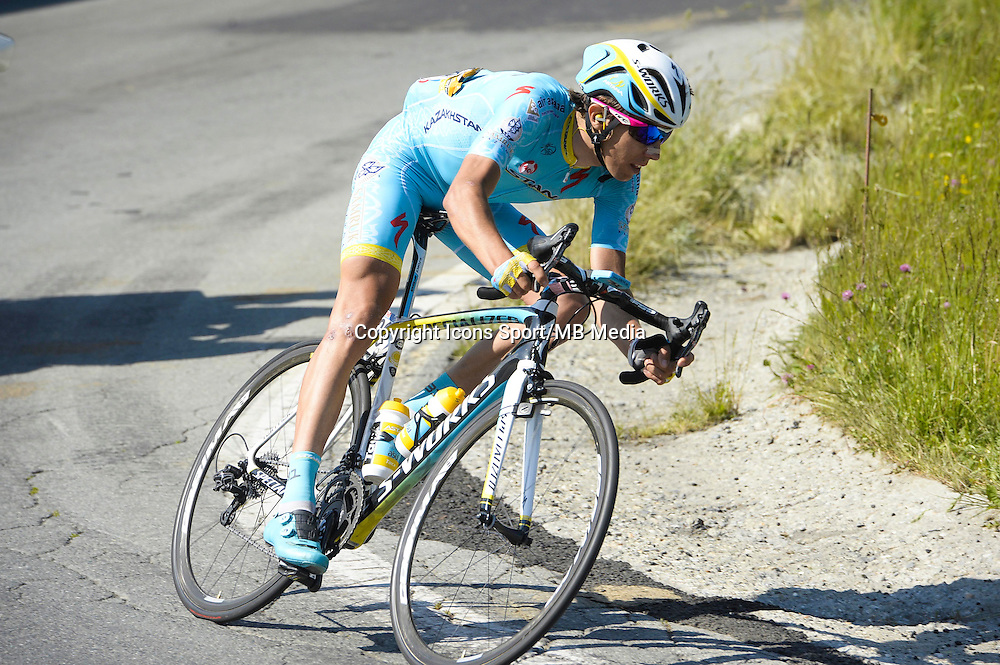 Diego Rosa - Astana - 29.05.2015 - Tour d'Italie - Etape 19 :  Gravellona Toce / Cervinia<br />Photo : Sirotti / Icon Sport