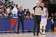 DESCRIZIONE : Sassari LegaBasket Serie A 2015-2016 Dinamo Banco di Sardegna Sassari - Giorgio Tesi Group Pistoia<br /> GIOCATORE : Marco Calvani Paolo Taurino<br /> CATEGORIA : Arbitro Referee Allenatore Coach Composizione Curiosità Mani Ritratto<br /> SQUADRA : Dinamo Banco di Sardegna Sassari<br /> EVENTO : LegaBasket Serie A 2015-2016<br /> GARA : Dinamo Banco di Sardegna Sassari - Giorgio Tesi Group Pistoia<br /> DATA : 27/12/2015<br /> SPORT : Pallacanestro<br /> AUTORE : Agenzia Ciamillo-Castoria/C.Atzori