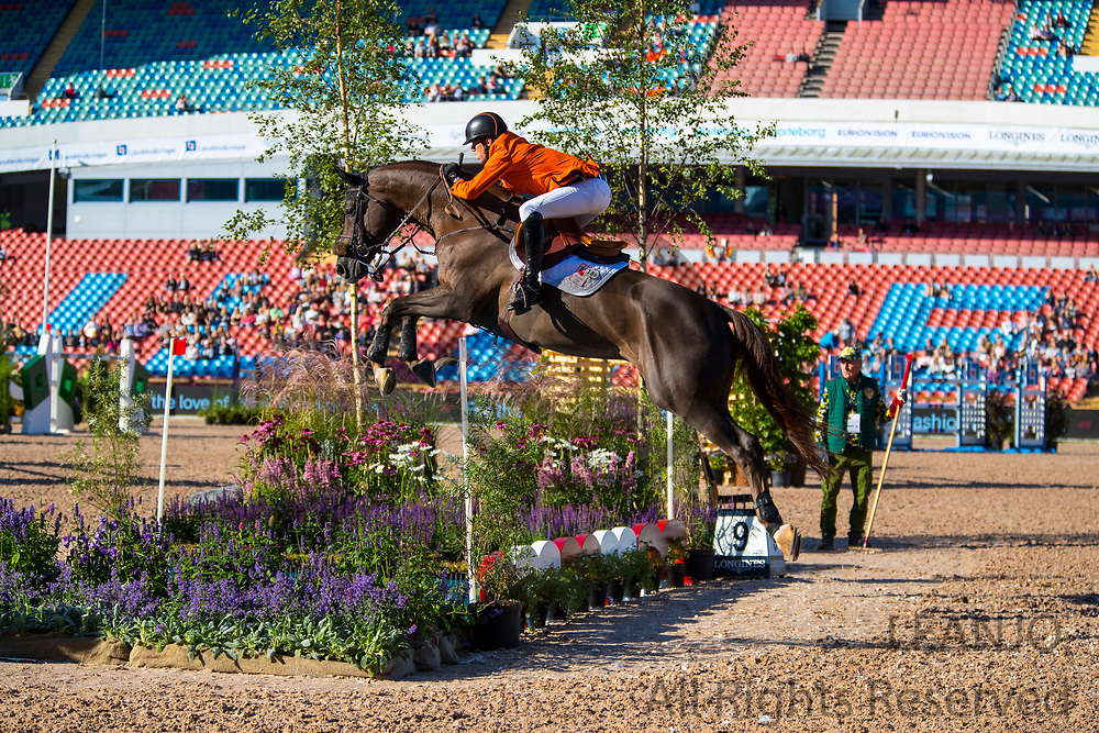 Harrie Smolders - Don VHP Z<br /> FEI European Championships Gothenburg 2017<br /> &copy; DigiShots