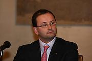 """BOLOGNA, 22/02/2009<br /> FEDERAZIONE ITALIANA PALLACANESTRO PREMIO <br /> PREMIO """"ITALIA BASKET HALL OF FAME""""<br /> NELLA FOTO PATRICK BAUMANN"""