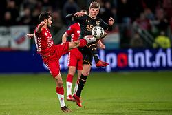 19-01-2018 NED: FC Utrecht - AZ Alkmaar, Utrecht<br /> Mark van der Maarel #2 of FC Utrecht