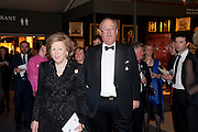 LADY CADOGAN; LORD CADOGAN, Bada Antiques Fine art Fair charity Gala. In aid of Leukaemia and Lymphoma Research. 18 March 2010.