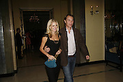 Donna Air and Damien Aspinall, Work by Mexican artist, Gabriel Orozco. Gallery opening & private view at new White Cube space, 25-26 Mason's Yard, London and afterwards at Claridges. London. 27 September 2006. <br />