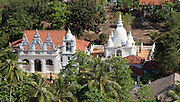 Aerial view of Dodanduwa Temple