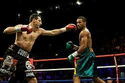 Andre Dirrell v Carl Froch , WBC Super Middleweight fight, October 17, 2009 at Trent FM Arena in Nottingham, England.