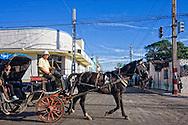 Horse and carriage in Cardenas, Matanzas, Cuba.