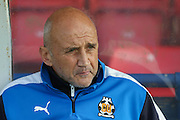 Cambridge United Manager Richard Money during the Sky Bet League 2 match between York City and Cambridge United at Bootham Crescent, York, England on 3 October 2015. Photo by Simon Davies.