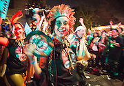Krewe delusion Parade in Faubourg Marigny; New Orleans February 11, 2017
