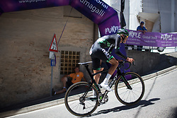 Moniek Tenniglo (NED) of WM3 Pro Cycling Team rides near the top of the final climb of Stage 5 of the Giro Rosa - a 12.7 km individual time trial, starting and finishing in Sant'Elpido A Mare on July 4, 2017, in Fermo, Italy. (Photo by Balint Hamvas/Velofocus.com)