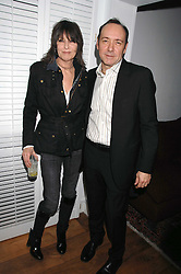 KEVIN SPACEY and CHRISSIE HYNDE at the Grand Classic screening of The Apartment held at The Electric Cinema, 191 Portobello Road, London on 16th March 2008.<br />