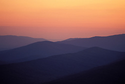 Arkansas: Sunset at Queen Wilhelmina State Park.  Photo #: arkans106..Photo copyright Lee Foster, 510-549-2202, lee@fostertravel.com, www.fostertravel.com