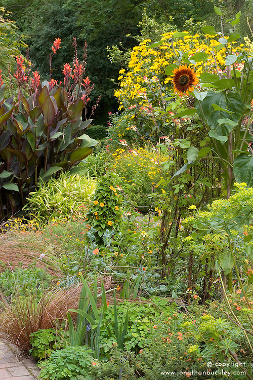 Late summer in the Cottage Garden at Sissinghurst Castle