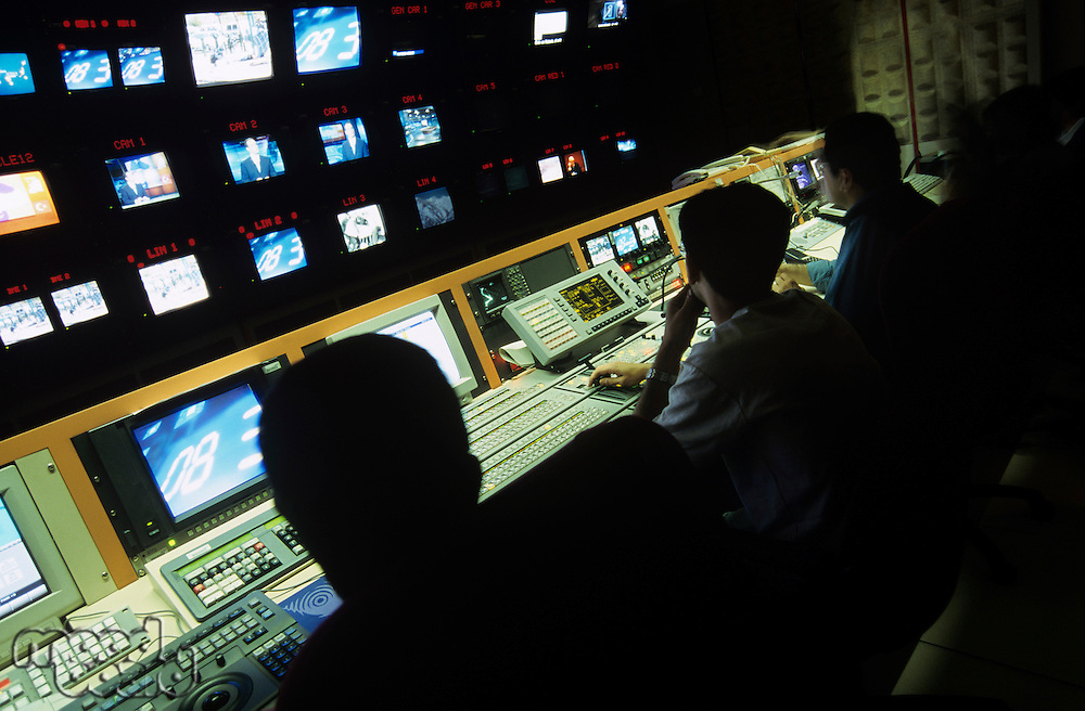 Control centre of television channel