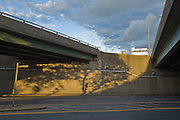 Downtown overpasses