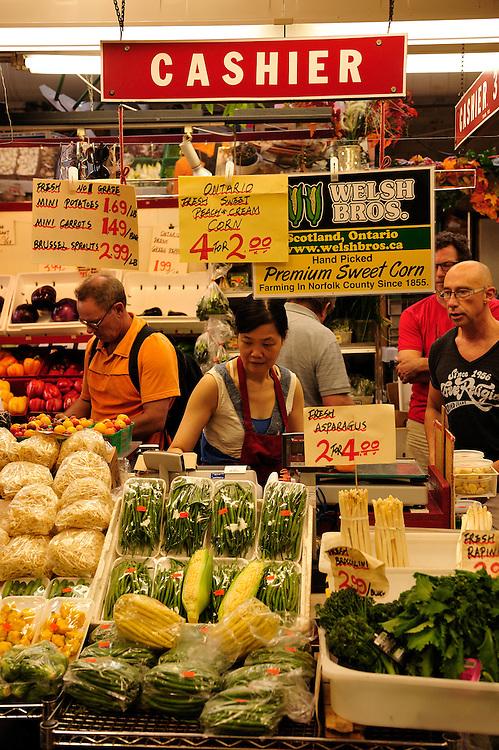 St.Lawrence Market, Toronto, Ontario, Canada,