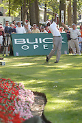JJul 31, 2005; Grand Blanc, MI, USA; Vijay Singh his tee shot on number seventeen on his way to successfully defending his title at the 2005 Buick Open at the Warwick Hills Golf and Country Club. Copyright © 2005 Kevin Johnston