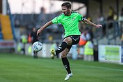 Forest Green Rovers Scott Laird(3) controls the ball during the Pre-Season Friendly match between Torquay United and Forest Green Rovers at Plainmoor, Torquay, England on 10 July 2018. Picture by Shane Healey.