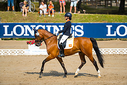 Buijs Sanne, NED, Happy Feet<br /> European Championship Children, Juniors, Young Riders - Fontainebleau 1028<br /> © Hippo Foto - Leanjo de Koster<br /> Buijs Sanne, NED, Happy Feet