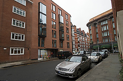 **Home supplement** © Ben Cawthra. 22/01/2013. The Lansbury (left), on Basil Street, London, recently refurbished in to 6 luxury apartments opposite Harrods in central London. Photo credit: Ben Cawthra.