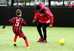 Mark Little of Bristol City plays with children at The BCCT EFL Kids Cup - Mandatory by-line: Robbie Stephenson/JMP - 23/11/2016 - FOOTBALL - South Bristol Sports Centre - Bristol, England - BCCT EFL Kids Cup