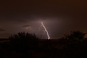 Lightning bolt Photographed in Israel in October