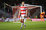Doncaster Rovers forward Andy Williams  during the The FA Cup third round match between Doncaster Rovers and Stoke City at the Keepmoat Stadium, Doncaster, England on 9 January 2016. Photo by Simon Davies.