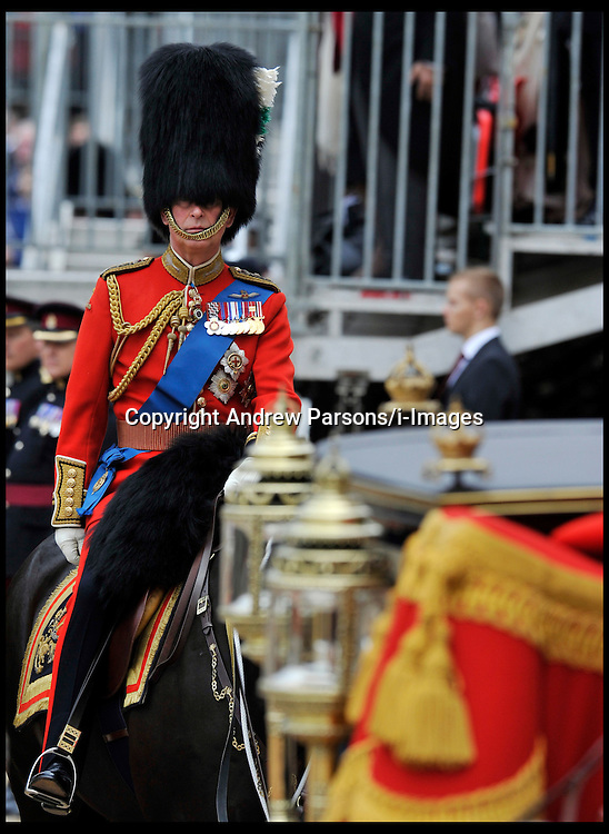 Prince Charles takes part in the Queen's Trooping of the Colour, The Queen's Birthday Parade, on Horse Guards Parade, Saturday June 16, 2012. Photo by Andrew Parsons/i-Images..All Rights Reserved ©Andrew Parsons/i-Images .See Special Instructions