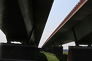 A low view of a German autobahn.<br /> <br /> Photo by Dennis Brack