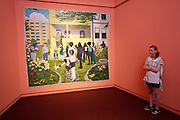 "documenta12. Neue Galerie. Kerry James Marshall, ""Garden Party"", 2003-2007."