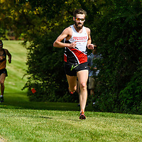 Matt Johnson competes during the annual Cougar Trot on September 17 at Douglas Park. Credit: Arthur Ward/Arthur Images