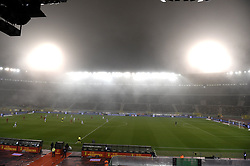 November 15, 2018 - Bruxelles, France - Stadium in the fog (Credit Image: © Panoramic via ZUMA Press)