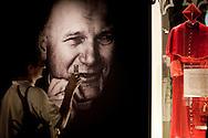 Roma  29.04.2011 - Beatificazione di Papa Giovanni Paolo II. Roma si prepara ad accogliere le migliaia di fedeli che parteciperanno alla beatificazione di Papa Wojtyla..Nella Foto: Gruppi di fedeli all'interno del Museo della vita di Papa Wojtyla allestito nella Città del Vaticano..Photo by Giovanni Marino
