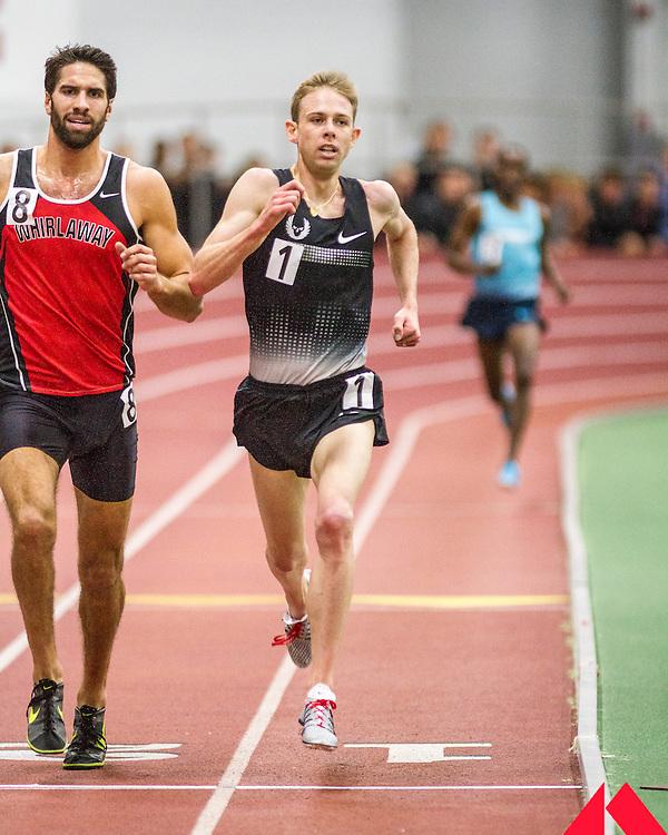 Boston University Multi-team indoor track & field meet, 5000m