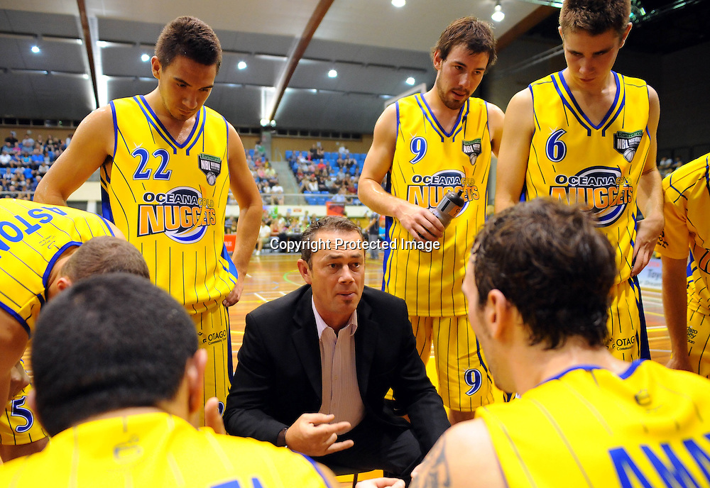 Nuggets coach Anthony Arlidge. NBL - Nelson Giants v Otago Nuggets at the Trafalgar centre, Nelson on Friday 19 March 2010. Photo: Chris Symes/PHOTOSPORT
