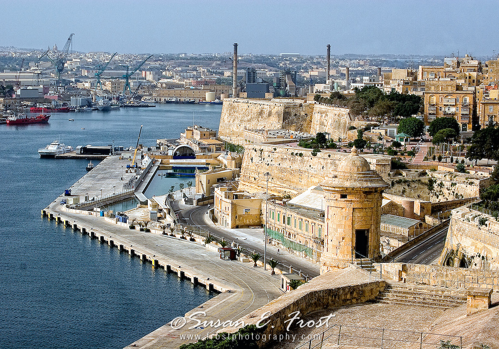 Vittorio and Grand Harbour, Malta
