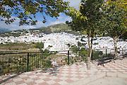 Whitewashed Andalucian mountain village of Competa, Malaga province, Spain