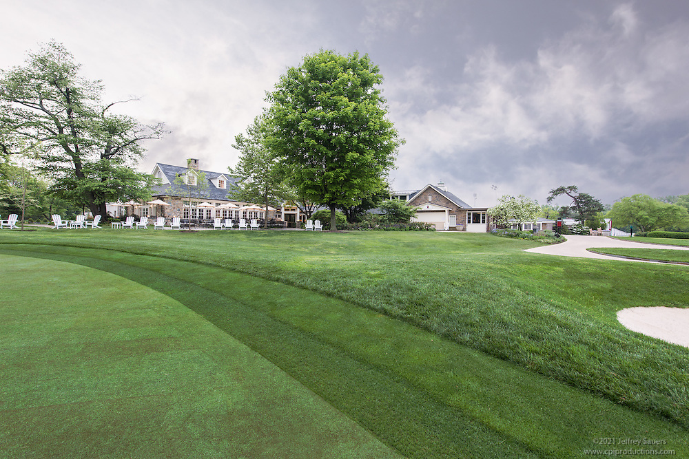 Architectural Image Of The Chevy Chase Club In Maryland By Jeffrey Sauers Commercial Photographics