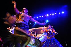 April 2, 2017 - Kolkata, India - Indian Folk Dancer perform Rajastahani Folk Dancer in Kolkata,India, on April 4, 2017. (Credit Image: © Debajyoti Chakraborty/NurPhoto via ZUMA Press)