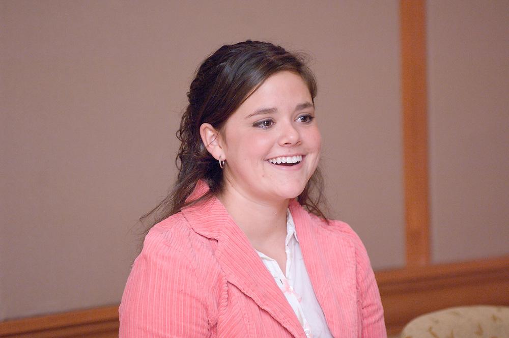 Appalachian Scholars Open House Program in New Baker...Appalachian Scholar, Rebecca A Capper