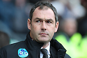 Derby County manager Paul Clement during the Sky Bet Championship match between Derby County and Cardiff City at the iPro Stadium, Derby, England on 21 November 2015. Photo by Aaron Lupton.