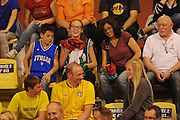 Vannes, 15/06/2013<br /> Eurobasket Women 2013<br /> Italia - Svezia<br /> Nella foto: tifosi<br /> Foto Ciamillo