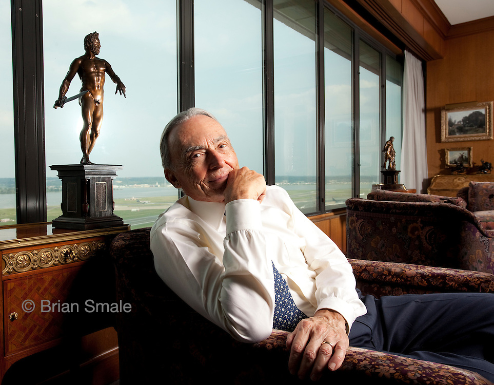 Robert (Bob) Smith, art collector.  Photographed in his home in Crystal City, VA for Apollo Magazine