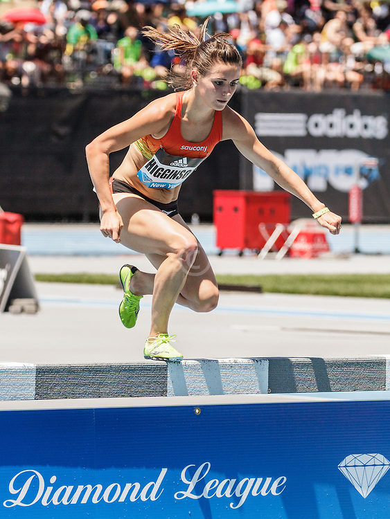 adidas Grand Prix Diamond League Track & Field: womens 3000m steeplechase, Ashley Higginson, Saucony