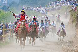 Skach Koyl Horse Race on All Saints Day,Todos Santos Cuchumatán, Guatemala
