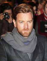 LONDON - NOVEMBER 19: Ewan McGregor attended the UK Film Premiere of 'The Impossible' at the BFI IMAX, London, UK. November 19, 2012. (Photo by Richard Goldschmidt)