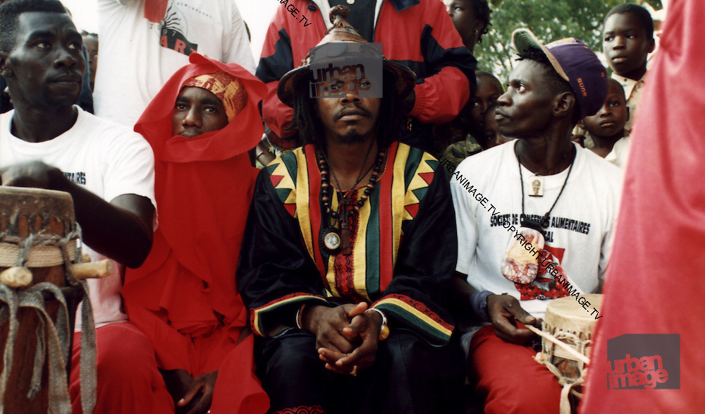 Sizzla and Luciano in Senegal