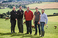 The Farm Profit Programme held a farm walk at Duguids, Mains of Cranna, Aberchirder on 27th July, 2017. Pics show FPP members, Arthur & Scott Duguid and attendees of the walk. For Farmers Journal. Payment to Craig Stephen. No re-use without payment.