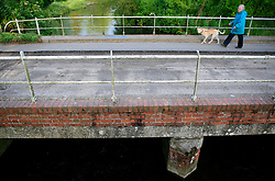 UK ENGLAND WILTSHIRE 26JUN08 - Bridge over rhe river Kennet near Ramsbury in rural Wiltshire, western England...jre/Photo by Jiri Rezac / WWF UK..© Jiri Rezac 2008..Contact: +44 (0) 7050 110 417.Mobile:  +44 (0) 7801 337 683.Office:  +44 (0) 20 8968 9635..Email:   jiri@jirirezac.com.Web:     www.jirirezac.com..© All images Jiri Rezac 2008 - All rights reserved.