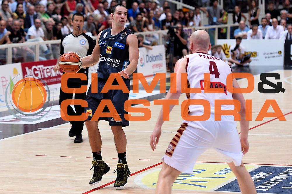 Aaron Craft<br /> Dolomiti Energia Aquila Basket Trento - Umana Reyer Venezia<br /> Lega Basket Serie A 2016/2017<br /> Playoff, finale gara 4<br /> Trento, 16/06/2017<br /> Foto M.Ceretti / Ciamillo-Castoria
